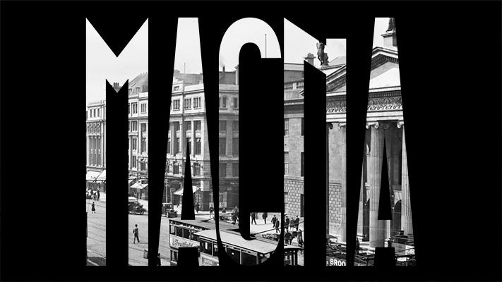Magna tipografia vintage