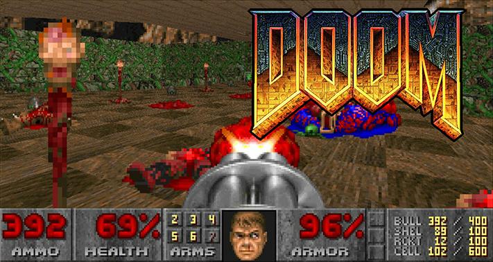 Doom Logo y Juego