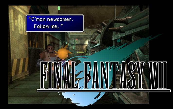 Final Fantasy Logo y Juego