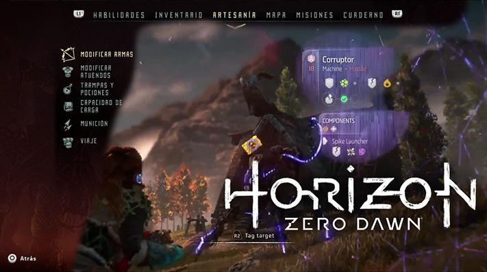 Horizon Logo y Juego